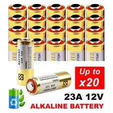 1-20x 23A 21/23 A23 23A 23GA 12V Alkaline Battery for Garage Car Remote Alarm