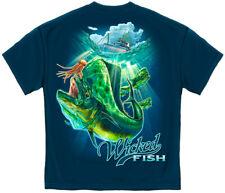 Fish Fishing T Shirt Mahi Mahi Dolphin Mens Hunting Nature Tee S M L XL XXL XXXL