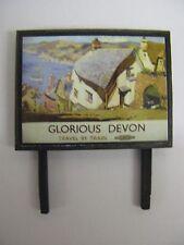 Glorious Devon BR - Model Railway Billboard - N Gauge & OO Gauge