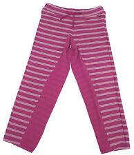 "New! Roxy Pink Striped ""Tumble"" Sweatpants Pants Kids Little Girls Youth Sz 5-7"