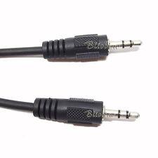 CAVO JACK M/M 3.5 MM PROLUNGA AUDIO AUX STEREO AUTORADIO LETTORE MP3 WMA IPOD