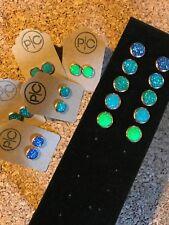 10mm Rose Gold Druzy Earring, Faux Druzy Earrings, Childrens Earrings, Gift