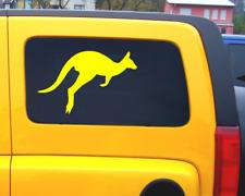 Kangaroo Aufkleber Känguru Sticker Autoaufkleber  25 Farben 8 Größen