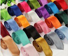 Men New Slim Skinny Neck Ties - Over 20 Colors
