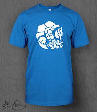 Pokemon T-Shirt. Blastoise MEN'S Charizard, Pikachu, Nintendo, Switch Sun Moon