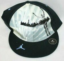 5e7dbe5cb Mens Nike Michael Jordan Lenticular 243970 010 Black Fitted Baseball Hat Cap