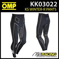 SALE! KK03022 OMP KS WINTER KARTING LONG PANTS BASE LAYER KART/BIKE/SKI/SNOW