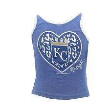 Kansas City Royals Official MLB Genuine Kids Youth Girls Size Tank Top Shirt New