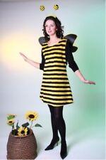 Bienchenkleid inklusive Flügel und Fühler- Größe: 36/38 - 44/46