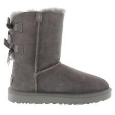 Ugg Australia Bailey Bow II Grey Womens Boots