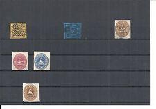 Braunschweig 1853, Einzelwerte ex Michelnummern.: ex 4 - 20 o/*, gestempelt o/*