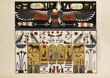 De las tumbas de los Reyes en Tebas. Antiguo Egipto Art Print/cartel (4962)