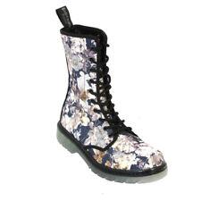 Boots & Braces 10-Loch Stiefel Easy September-Flower Boots-Blogger-Blumen-NEU!