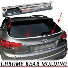 Rear Exterior Chrome Garnish Molding Trim 4EA For 10 11 12 Hyundai Tucson ix35