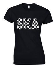 Ska Camiseta de mujer 2 Tonos Reggae Música JAMAICA ESPECIALES Madness BEAT
