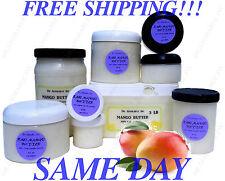 Natural Pure Mango Butter Organic Raw Refined Treats Dry Skin & More 2oz -12 Lb