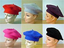 Wool Warm Winter French Beret Newsboy Beanie Cap Hat
