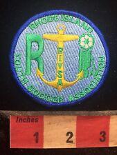 Souvenir Rhode Island Youth Soccer Association Jacket Patch 75V2