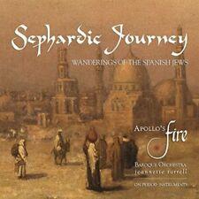 SEPHARDIC JOURNEY-WANDERINGS OF THE SPANISH JEWS  CD NEW+ TRADITIONAL/HEBREO