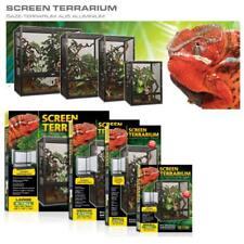 Screen Gaze Terrarium aus Aluminium für Reptilien - verschiedene Größen