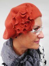 Baskenmütze Damenmütze von McBurn Baske mit Applikation Damenmützen Damenhüte