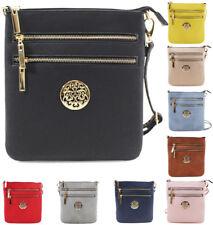 UK Ladies Cross Body Messenger Bag Women Shoulder Over Bags Detachable Handbags