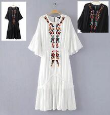 Caftano Mini Vestito - Kaftan Mini Dress Woman - Copricostume Cover Up KAFT001B