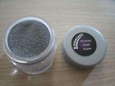 Glitteratti 49 Silver Slate  Pre-Mixed Acrylic Powder NSI