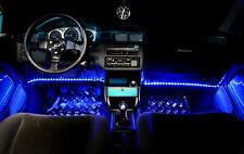 4x Blau Rot Türbeleuchtun Car PKW LKW LED Strip Leiste 33cm IP68 18 SMD A840-843