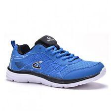 New GEERS Men's Athletic Running Training Blue Black Sneaker Shoes