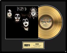 """KISS - KISS (SAME) 12"""" LP 24KT GOLDENE SCHALLPLATTE #16"""