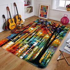 3D Oil Painting Woods8 Non Slip Rug Mat Room Mat Quality Elegant Photo Carpet AU