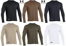 Under Armour Mens Tactical Tech Long Sleeve T-Shirt - UA Loose Fit Tee Shirt