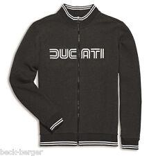 DUCATI Giugiaro 80´s Kinder Sweatjacke Sweatshirt Pullover grau KIDS NEU 2016 !!