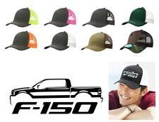 2004-08 Ford F150 Pickup Truck Color Outline Design Trucker Hat Cap
