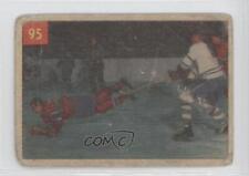 1954-55 Parkhurst #95 Doug Harvey Montreal Canadiens Hockey Card