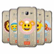 Officiel Emoji ® ZODIAC SIGNS GEL souple Coque Pour Samsung Téléphones 3