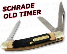 Schrade Old Timer Junior 3-Blade Knife Delrin 108OT NEW