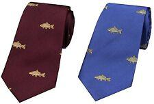 Fishing Theme Silk Ties