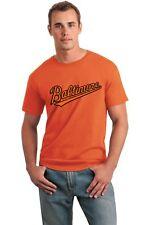 Baltimore Baseball Tee Shirts youth up to adult 5X