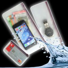 Druckverschluss Beutel 3er Set Tasche Berührungs Sensitive Handy PVC Reise Etuis