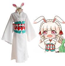 Onmyoji Cosplay Harajuku Kimono Coniglio Anime Uniforme Halloween Party Show