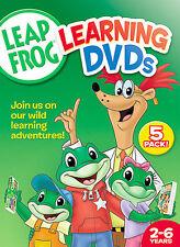 LeapFrog 5 Pack (DVD, 2006, 5-Disc Set) NEW