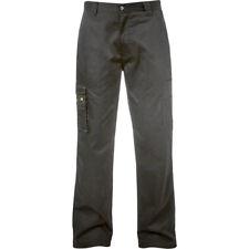 CAT/CATERPILLAR C820 Cargo Workwear Pantaloni Nero-Corta O Regolare Gamba