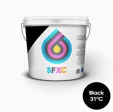 La tinta de impresión pantalla Termocrómico Negro 31 ° C