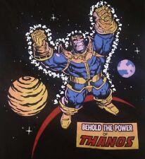 Thanos T-Shirt S M L XL 2XL New Infinity Gauntlet Marvel Comics