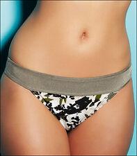 Freya Rum Jungle Retro Bikini Brief Camofluage Black Green Cream 3290 V Sizes