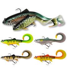 DAM EFFZETT Pike Seducer Curl Tail -Größe & Farbe wählbar- Curltail Gummifisch