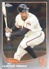 2013 Topps Chrome Baseball Base Singles (Pick Your Cards)