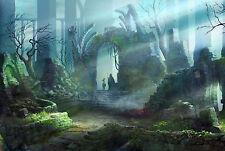 Demon's Souls Art Poster Print |5 Sizes| RPG PS3 PS4 PC Dark Souls Bloodborne